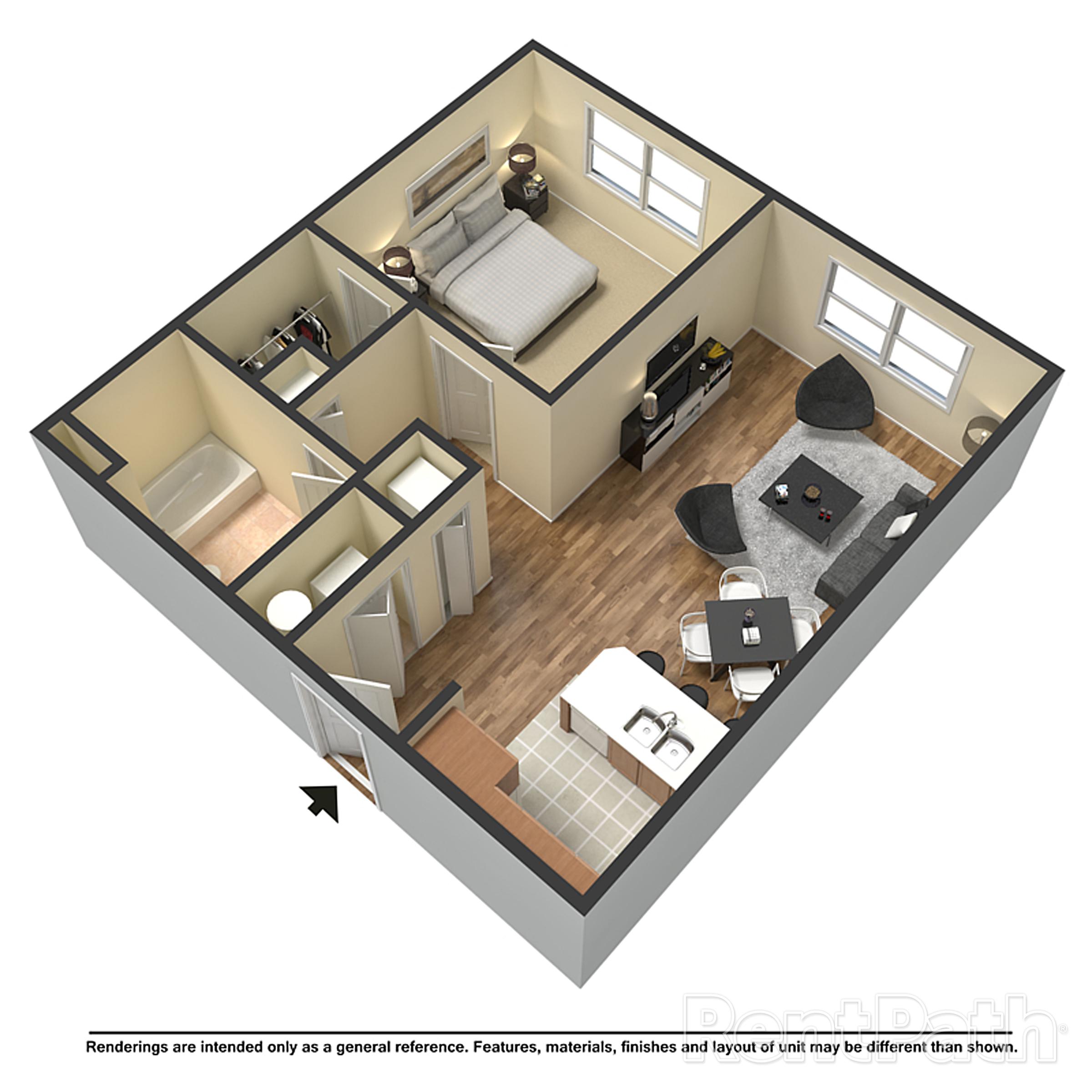 Arrowhead Apartments the dogwood